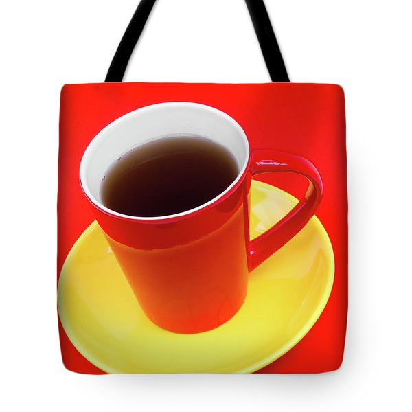 Spanish Cup Of Coffee Tote Bag by Wim Lanclus