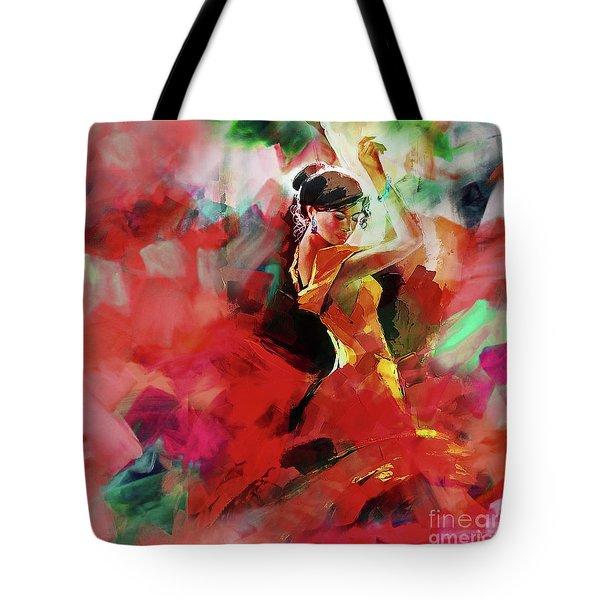 Spanish Dance Tote Bag