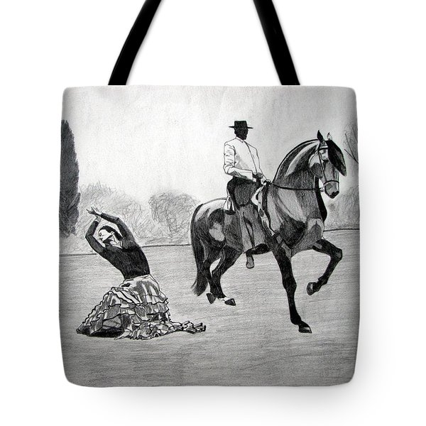 Spanish Dance Tote Bag