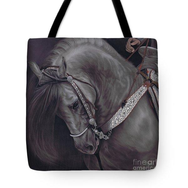 Spanish Horse Tote Bag