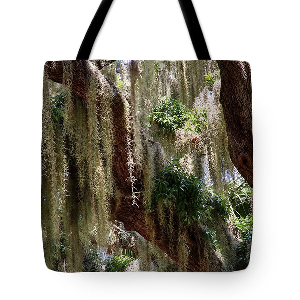 Spanish Moss Cascade Tote Bag
