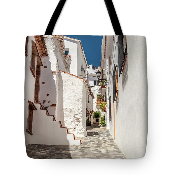 Spanish Street 1 Tote Bag
