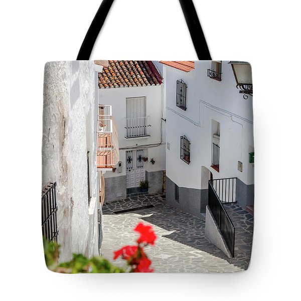 Spanish Street 3 Tote Bag