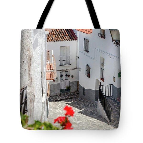 Spanish Street 3 Tote Bag
