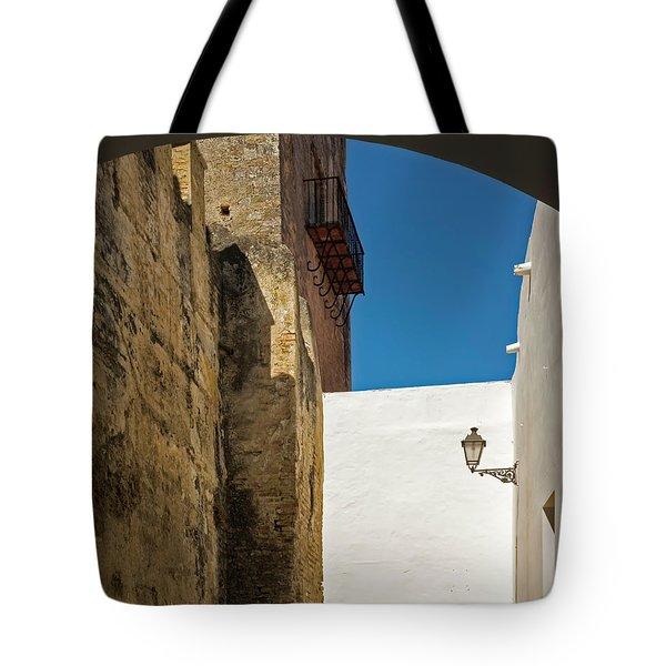 Spanish Street Tote Bag