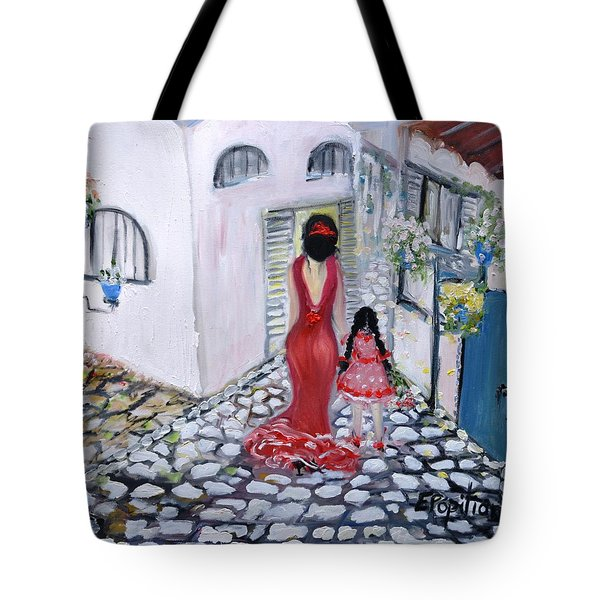 Spanish Style 2 Tote Bag
