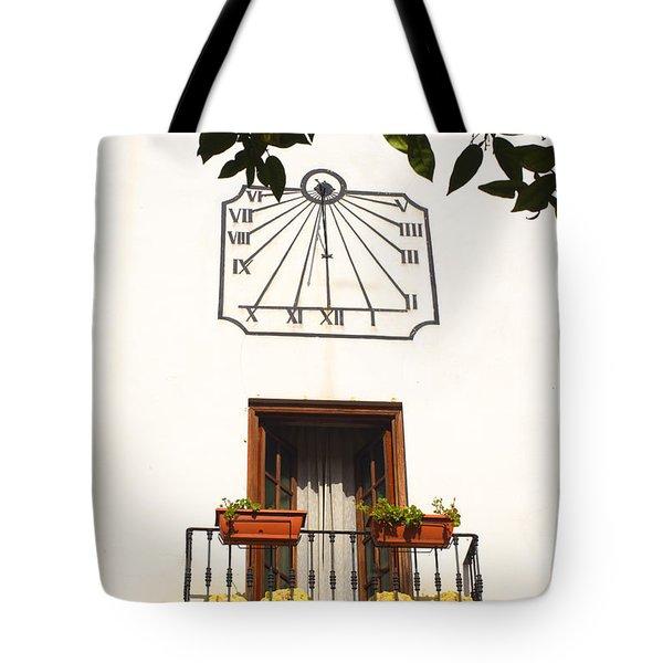 Spanish Sun Time Tote Bag