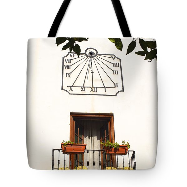 Spanish Sun Time Tote Bag