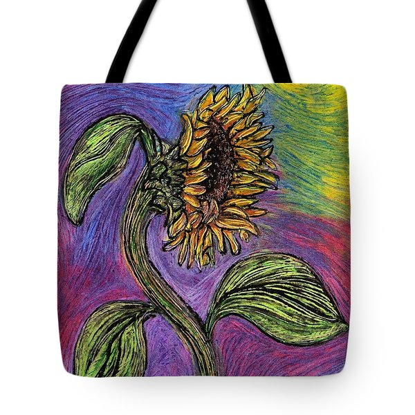 Spanish Sunflower Tote Bag