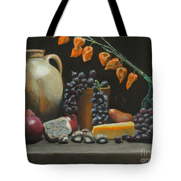 Spanish Urn And Japanese Lantern Tote Bag