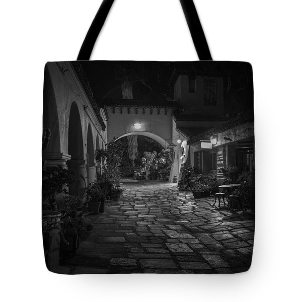 Spanish Village Tote Bag