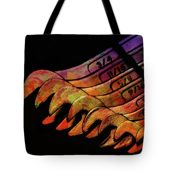Spanners 01 Tote Bag