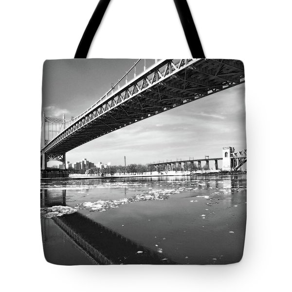 Spanning Bridges Tote Bag