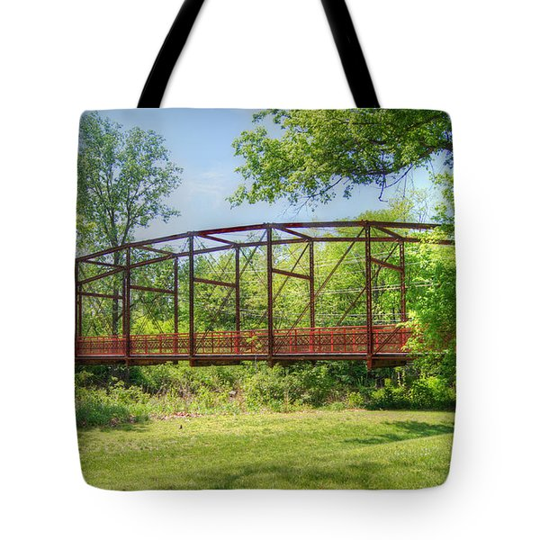 Spanning Time Tote Bag