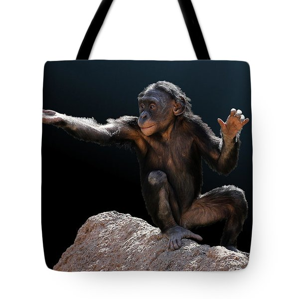 Spare Change? - Bonobo Tote Bag