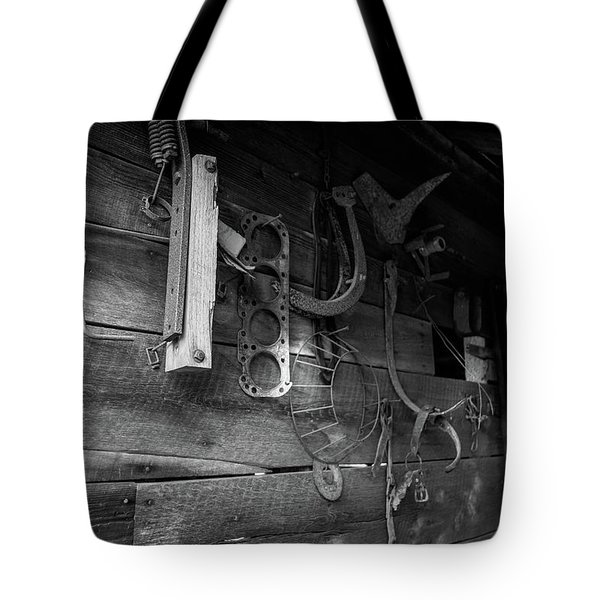 Tote Bag featuring the photograph Spare Parts by Doug Camara