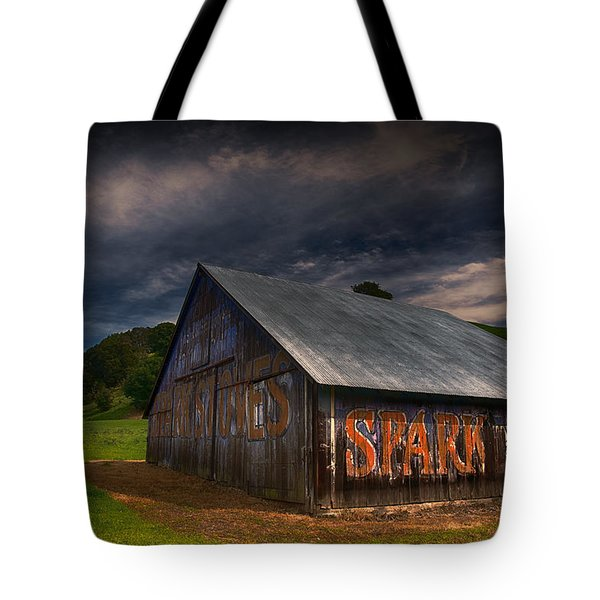 Spark Stoves Barn Tote Bag