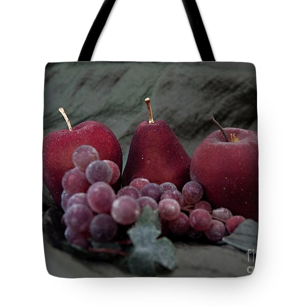 Tote Bag featuring the photograph Sparkeling Fruits by Sherry Hallemeier