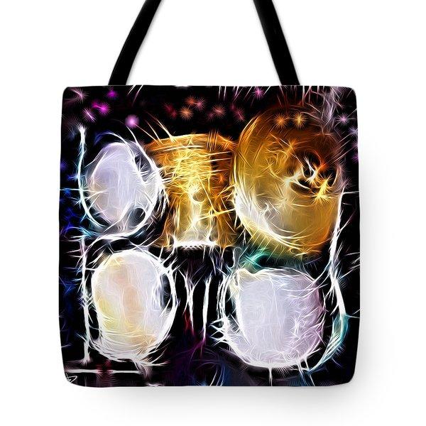 Sparkle Drums Tote Bag
