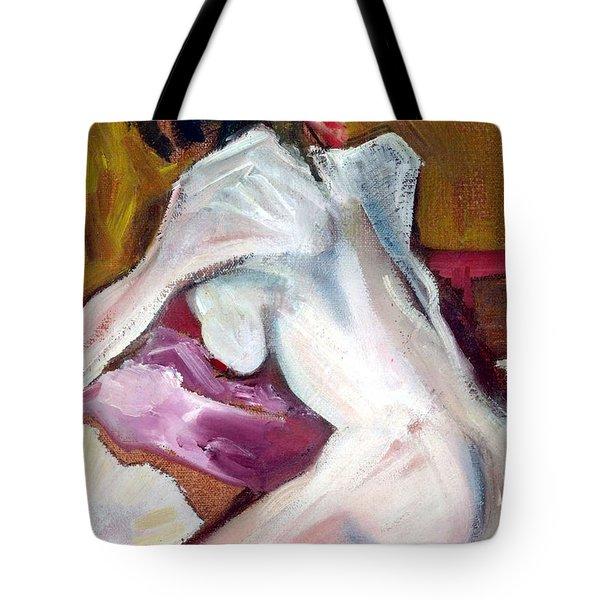 Sparkle - Female Nude Tote Bag