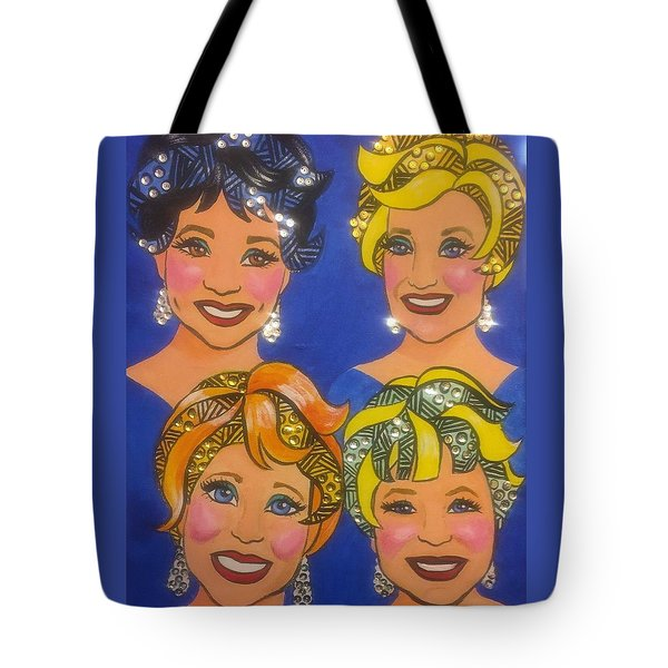 Sparkle Tote Bag by Marilyn Jacobson