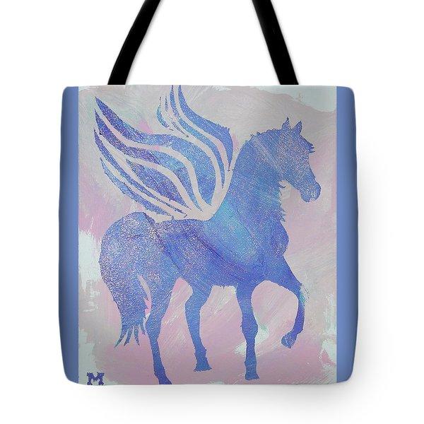 Sparkle Pegasus Tote Bag
