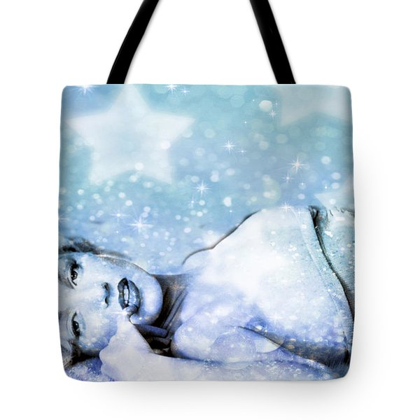 Tote Bag featuring the digital art Sparkle Queen by Greg Sharpe
