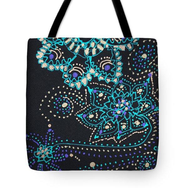 Midnite Sparkle Tote Bag