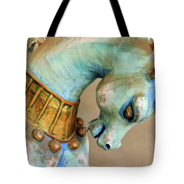 Sparkled Spiral Tote Bag
