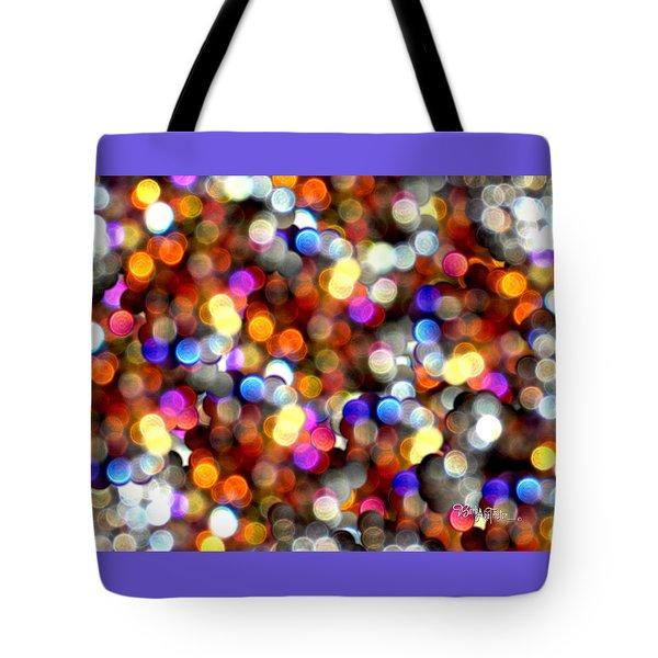 Sparkles #8885_4 Tote Bag by Barbara Tristan