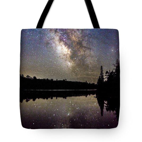 Sparklies On The Lake Tote Bag