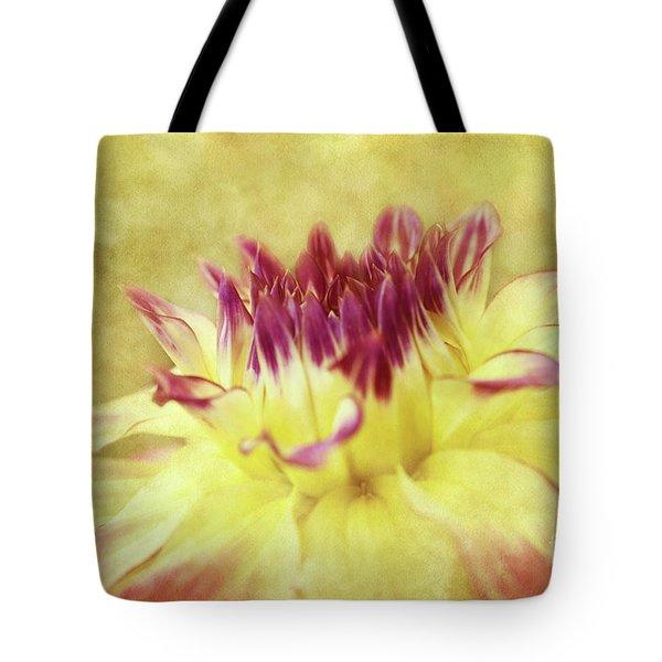 Sparkling Dahlia Tote Bag