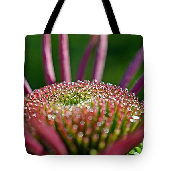 Sparkling Dew Tote Bag by Lila Fisher-Wenzel