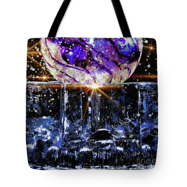 Sparkling Glass Tote Bag