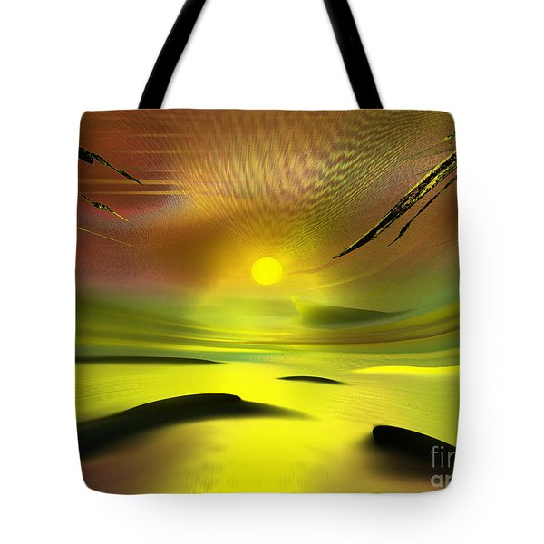 Sparkling In The Sand Tote Bag