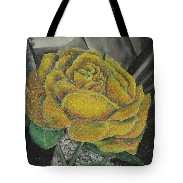 Sparkling Rose Tote Bag