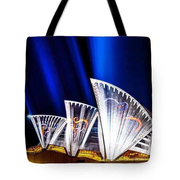 Sparkling Blades Tote Bag