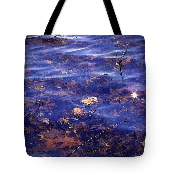 Sparkling Shore Tote Bag by Cedric Hampton