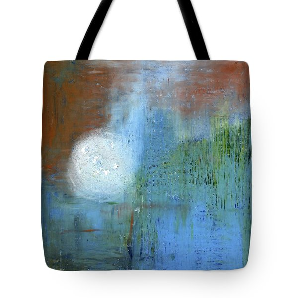 Tote Bag featuring the painting Sparkling Sun-rays by Michal Mitak Mahgerefteh