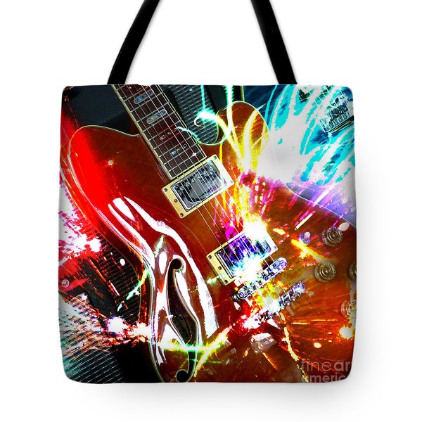 Tote Bag featuring the photograph Sparks Fly by LemonArt Photography
