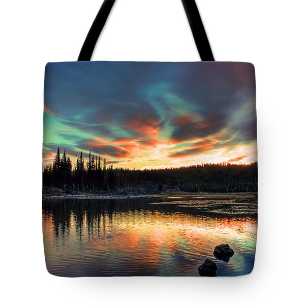 Sparks Lake Hues Tote Bag