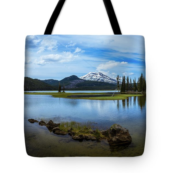 Sparks Lake, Oregon Tote Bag