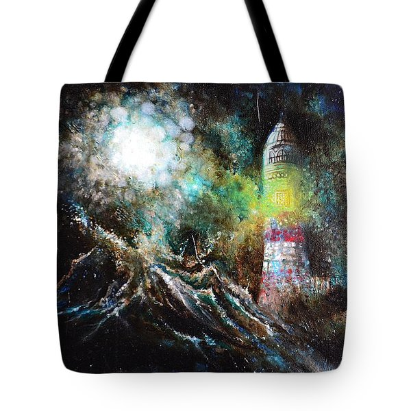 Sparks - The Storm At The Start Tote Bag