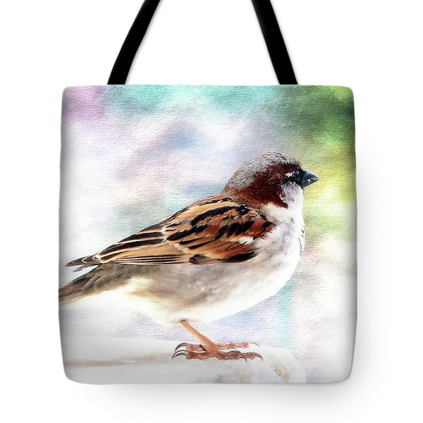 Sparrow Beauty 0004. Tote Bag