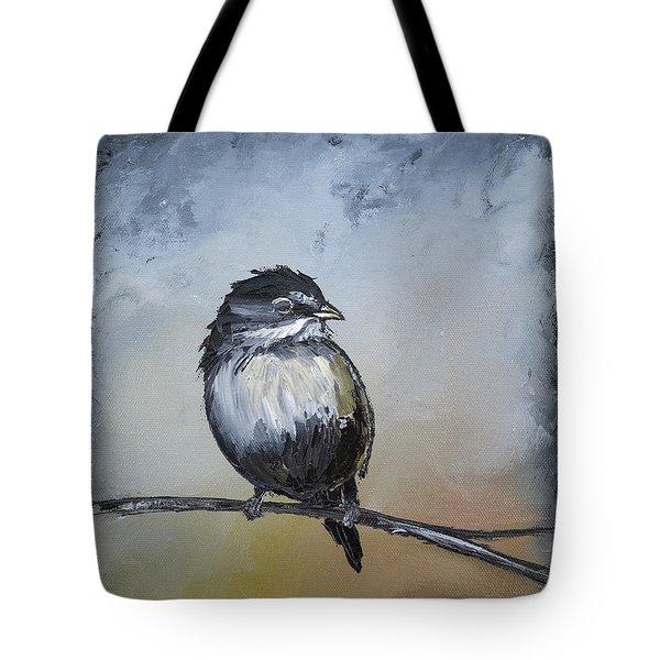 Sparrow Tote Bag