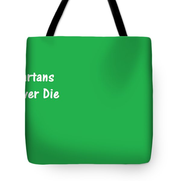 Tote Bag featuring the digital art Spartans by Aaron Martens