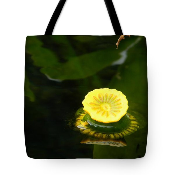 Spatterdock Reflections Tote Bag