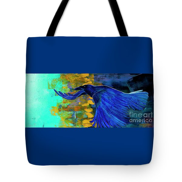 Speak To Me Of Magic Tote Bag by Tracy L Teeter