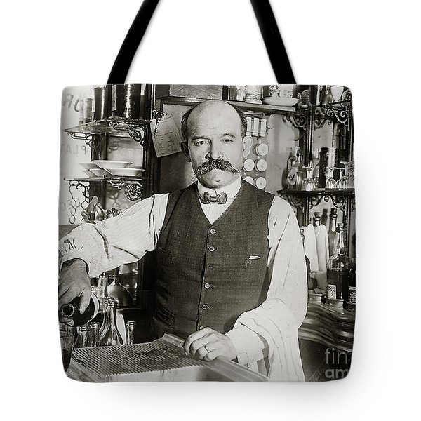 Speakeasy Bartender Tote Bag