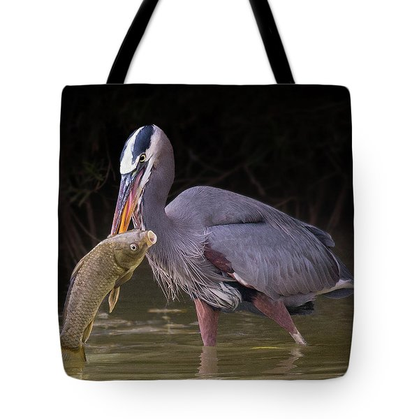 Spear Fisher Tote Bag